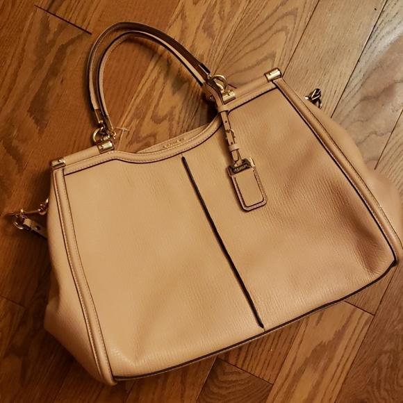 Coach Handbags - COACH Madison Caroline leather satchel.